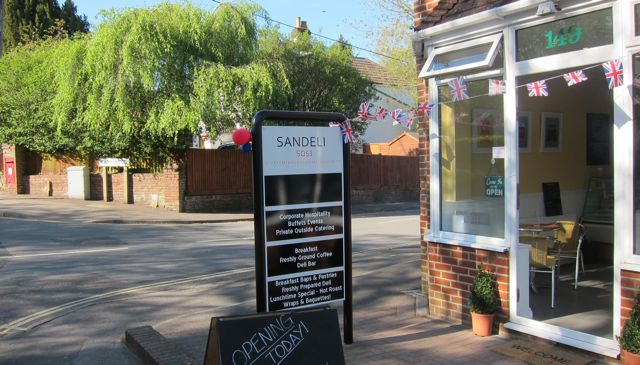 Sandeli on Hursley Road.
