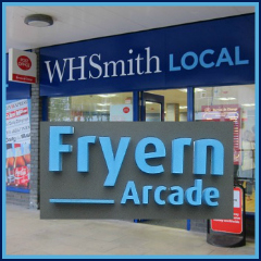 WH Smith Local and Post Office at Fryern Arcade, Chandler's Ford.