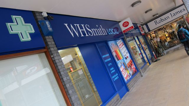 WH Smith Local and the post office at  the Fryern Arcade Chandler's Ford - open 7 days a week.