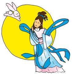 Jade rabbit and Chang'e