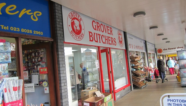 Grover Butchers at the Fryern Arcade, in Chandler's Ford.