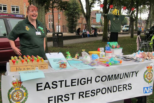 Lisa Wing - Eastleigh Community First Responder.