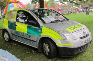 Eastleigh Responders need to replace this vehicle.