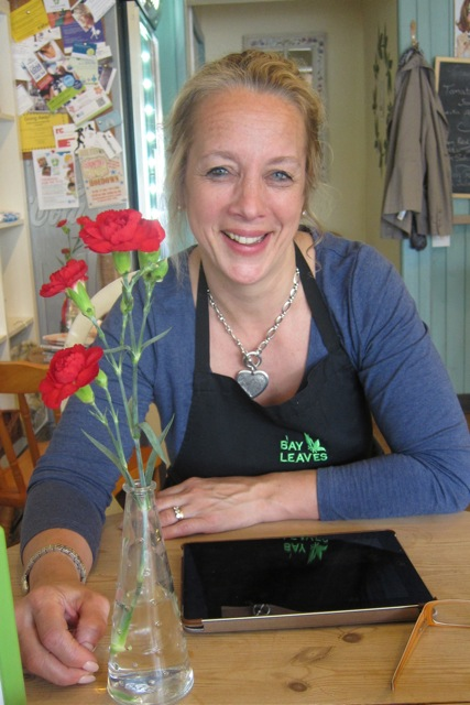 Sarah Guilder from Bay Leaves Larder: story of tabby Joules.
