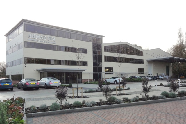 Ahmad Tea (London) is situated behind The Central Precinct of Chandler's Ford.