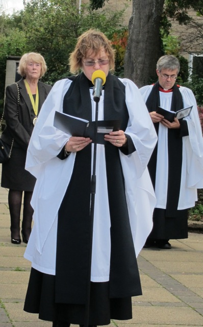 Christine Whitehead, of the parish church of Chandler's Ford.