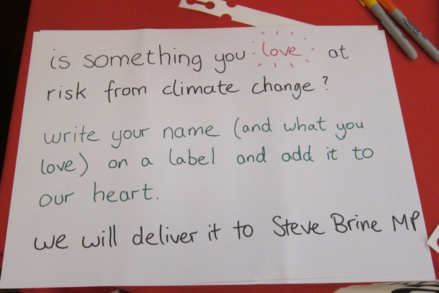 """Dear Steve Brine MP, this is what I care about. What will you do to protect it?"""