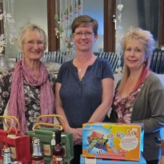 (Left to right): Tricia Urquhart, Sue Hunt, and Heather Dibb.
