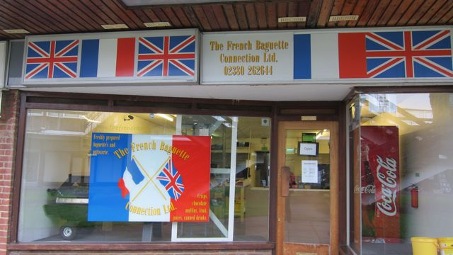 The French Baguette Connection sandwich shop run by Dave Boswell.