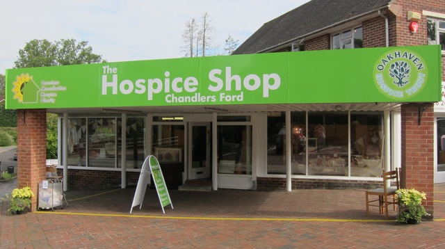 Hospice Shop in Hiltingbury, Chandler's Ford.