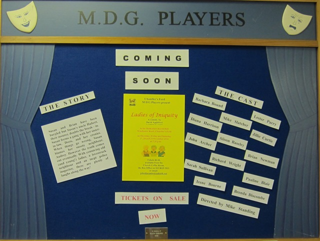 MDG board