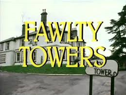 The Chameleons: Fawlty Towers shows in April 2015.