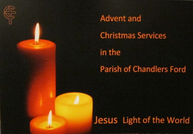 Advent and Christmas Services in the Parish of Chandler's Ford.