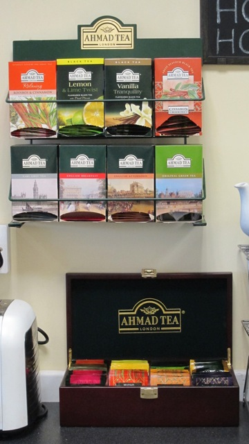 Ahmad Tea is popular at K'Sue Raa coffee shop.