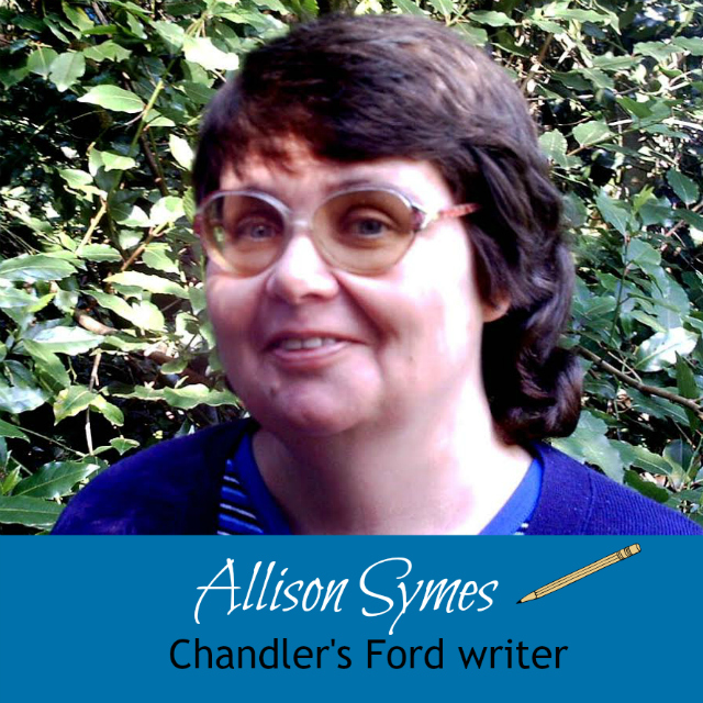 Chandler's Ford writer Allison Symes.