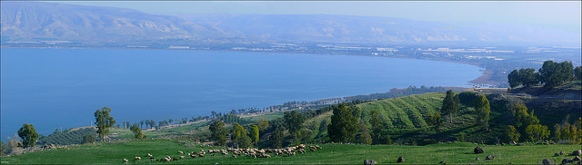 "Kinnereth - Sea of Galilee. Image by <a href=""https://www.flickr.com/photos/zachievenor/12325753455"">Zachi Evenor</a> via Flickr."