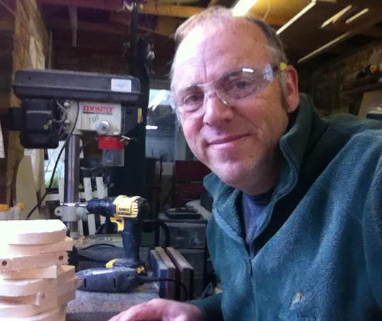 Steve Medd, the Woodcutter in Chandler's Ford.