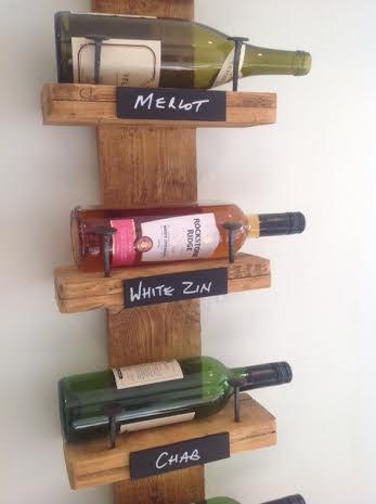 Wine rack from the Woodcutters.