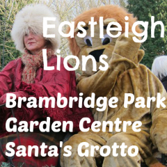 Eastleigh Lions Brambridge Park santa's grotto