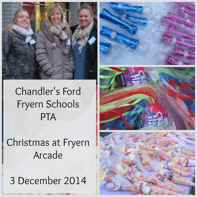 PTA of The Federation of Fryern Infant and Junior Schools held an attractive stall with sweets and gifts.