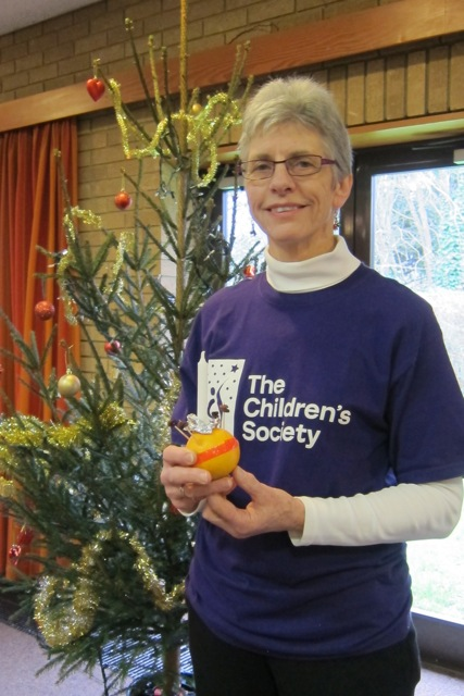 Linda Read has led the Christingle service in Chandler's Ford for over 30 years, in aid of the Children's Society.