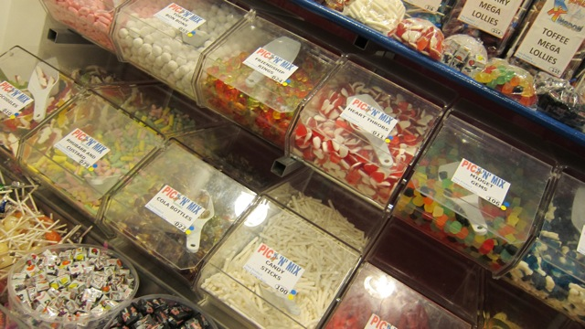 Traditional sweets at Kandy Kingdom on Bournmouth Road in Chandler's Ford.
