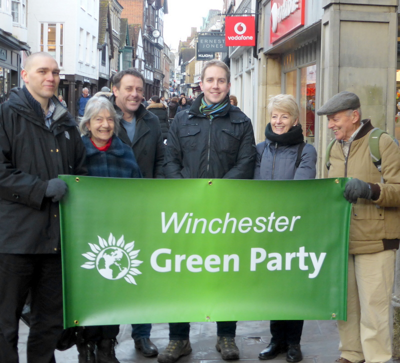 Greens looking for a parliamentary candidate.