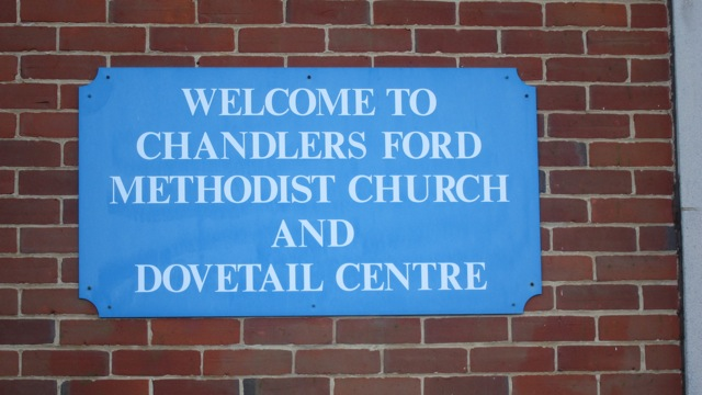 Chandler's Ford Methodist Church and Dovetail Centre.