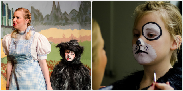 Dorothy and Toto, ably played by Lisa Dunbar and the adorable Lei Lei Apperly.