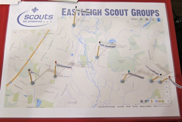 I love this concise Eastleigh Scouts Groups map.