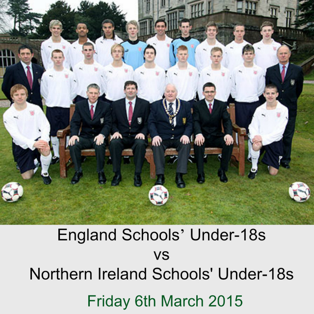 Eastleigh FC to hold first international fixture: England Schools' U18s vs Northern Ireland Schools' Under18s.