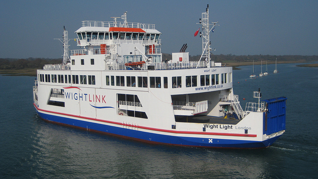 "Isle of Wight Ferry: image by <a href=""https://www.flickr.com/photos/aroberts/6886790076"">Andy Roberts</a> via Flickr."