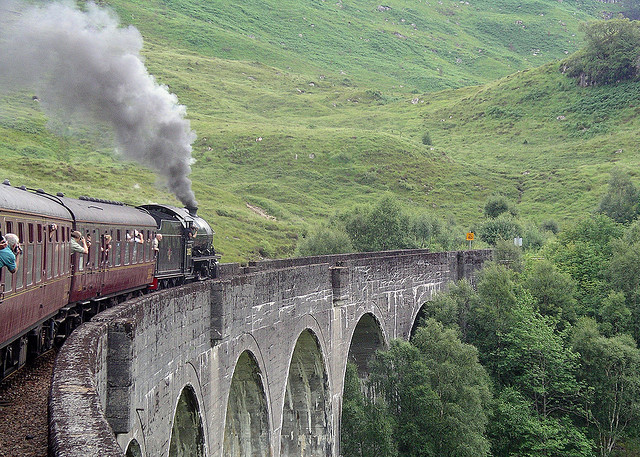 "The Hogwarts Express: image by <a href=""https://www.flickr.com/photos/ross_strachan/1187252340"">Ross G Strachan</a> via Flickr."