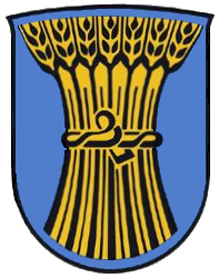 "Coat of arms of Kornwestheim: ""Blason ville fr Villeneuve-Saint-Georges (Val-de-Marne)"". Licensed under CC BY-SA 3.0 via Wikimedia Commons - http://commons.wikimedia.org/wiki/File:Blason_ville_fr_Villeneuve-Saint-Georges_(Val-de-Marne).svg#mediaviewer/File:Blason_ville_fr_Villeneuve-Saint-Georges_(Val-de-Marne).svg"