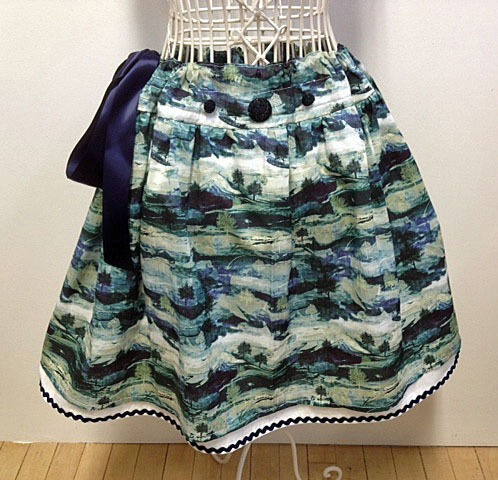 One of the skirts made by Anna Lambert.
