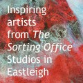 Meeting the inspiring artists from the Sorting Office Studios from Eastleigh.