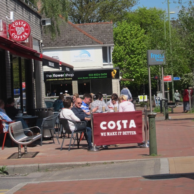 Costa Coffee at Fryern Arcade Chandler's Ford