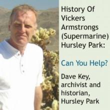 Dave Key Supermarine historian Hursley Park
