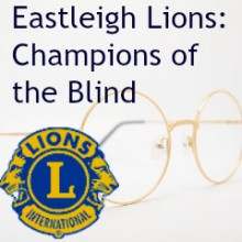 Eastleigh Lions Champions of the Blind