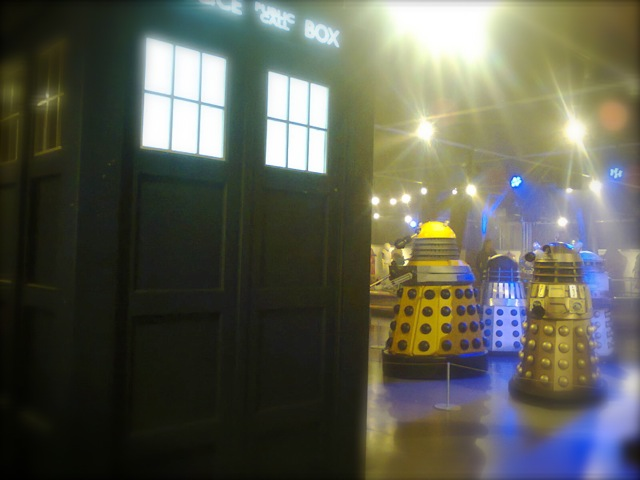 Tardis and Daleks - What the show is best known for.