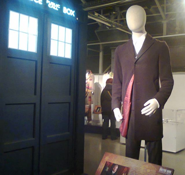 What the well dressed Doctor likes to wear. The DOCTOR WHO EXPERIENCE in Cardiff.