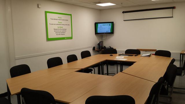 Free to use for local groups - Asda Eastleigh Community Room can sit 12 - 15 people comfortably.