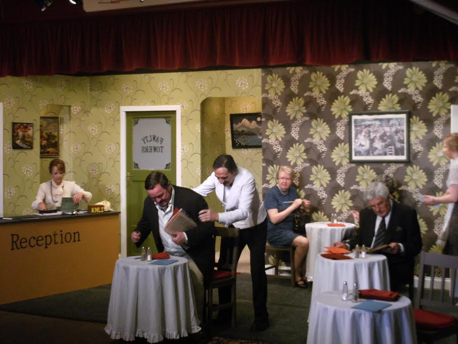 Hotel Inspectors - Fawlty Towers - by Chameleon Theatre Company, Chandler's Ford.