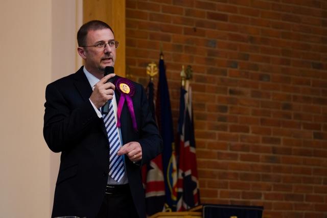 UKIP - Martin Lyon. Image: Alan Fry.