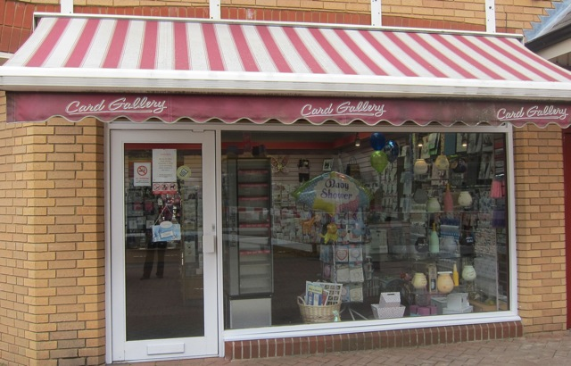Gibson's Card Gallery has re-opened.