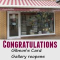 Gibson's card gallery reopens - Chandler's Ford