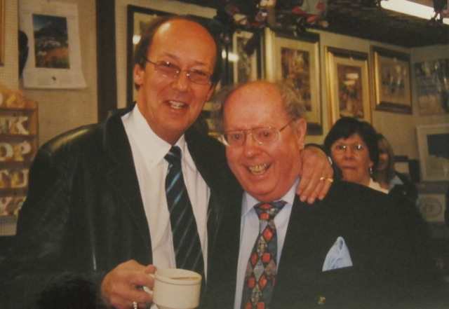 Brian and Fred Dinenage