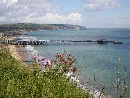 Lovely Sandown Bay, Isle of Wight