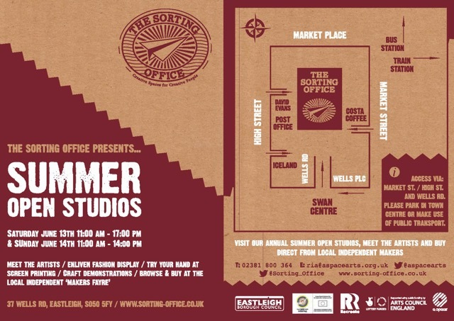Sorting Office Summer Open Studios 2015