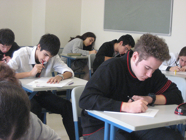 Writing exam image by ccarlstead via Flickr